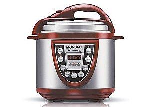 Panela Eletrônica de Pressão Pratic Cook 5L PE-12 - 110V -