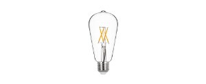 Lâmpada LED Bulbo Filamento ST64 4W 400LM E27 2700K