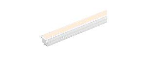 Perfil de Embutir Linie 1m 12W com Fita FULL LED 24V IRC 90 Integrada