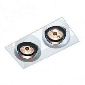 Luminária de Embutir Retangular 16x28cm AR70