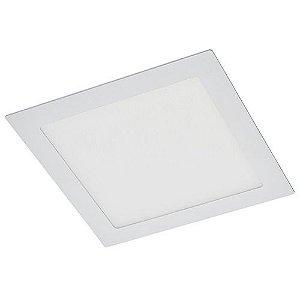 Luminária SLIM Quadrada Embutir 18x18cm