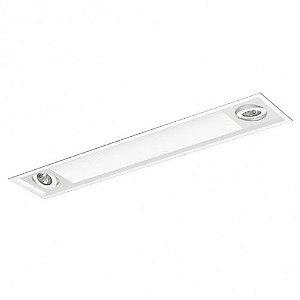 Luminária Difusor Acrílico Foco Direcional 15x84cm