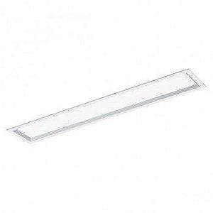 Luminária Retangular 12x62cm Placa de LED