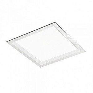 Luminária Quadrada de Embutir 19x19cm 2xE27