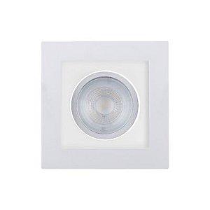 Spot Poli 5W LED 5,3x10,2x10,2cm Branco