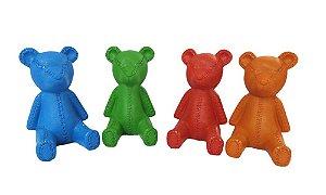conjunto Cofre Ursinho Teddy de Cerâmica