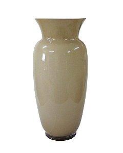 Vaso de Vidro leitoso nude 51cm