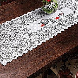 Trilho Valência Branco Utensílios 40cmX150cm Interlar - 161268