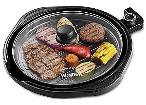 Grill Redondo Smart Grill 30cm 220V Mondial - G-04