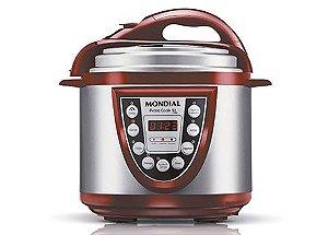 Panela Eletrônica de Pressão Pratic Cook 5L PE-12 - 220V - Mondial
