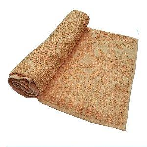 Toalha De Banho Luxo – Cor Laranja 68cm X 1,36m