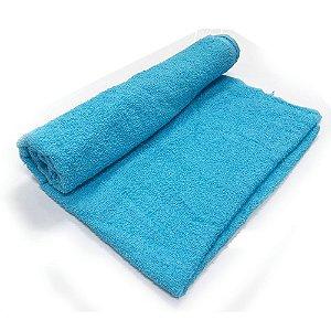 Toalha De Banho Barra – Cor Azul Claro 68cm X 1,28m