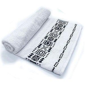 Toalha De Banho Nomade – Cor Branca 75cm X 1,40m