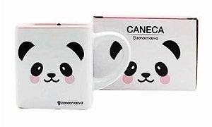 Caneca quadrada Panda