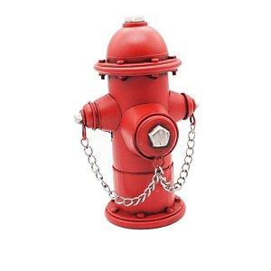 Hidrante Vermelho Decorativo