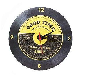 Relógio de parede Disco