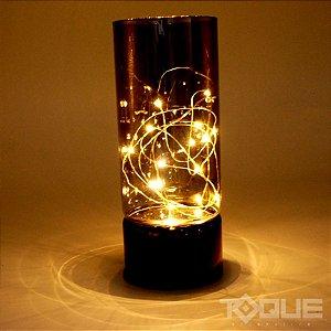 Luminária Led Pingo de Ouro