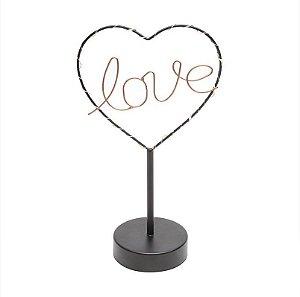 Luminária de mesa Love