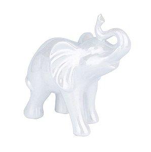 Elefante Branco Decorativo