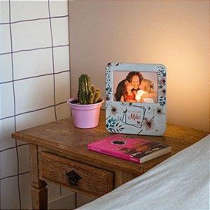 Luminária Porta Retrato Eu te Amo Mãe