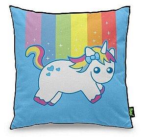 Almofada Unicornio Arco Iris