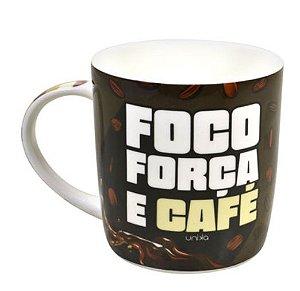 Caneca Foco Força e Café