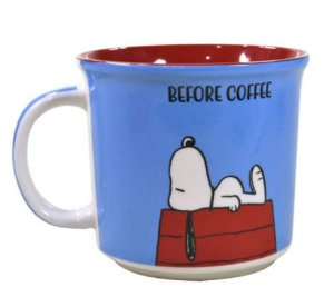 Caneca Snoopy Before Coffee
