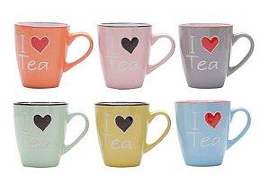 "Caneca ""I Love Tea"""