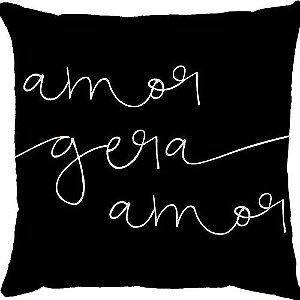 Capa de Almofada Amor Gera Amor