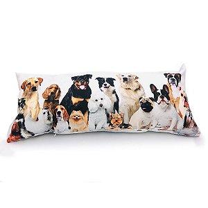 Capa de Almofada Dogs