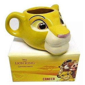 Caneca 3D Rei Leão-Simba