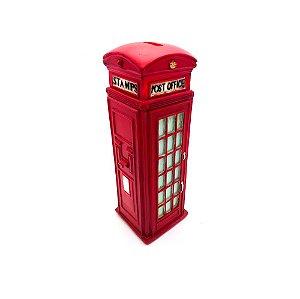 Cofre de cabine telefônica em resina