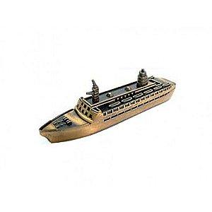 Navio de Metal em miniatura