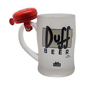 Caneca Campainha Duff Beer 400ML