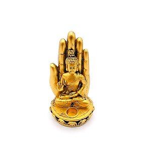 Porta Incenso Buda Resina