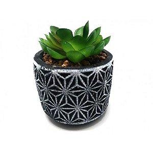 Vaso Decorativo Com Plantas Permanente