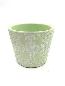 Vaso decorativo verde