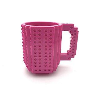 Caneca Bloquinhos Pink