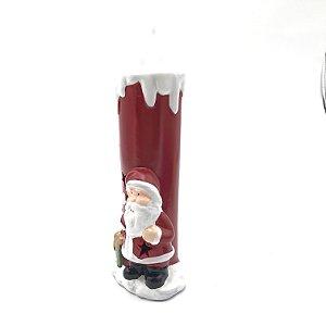 Vela Noel Cerâmica