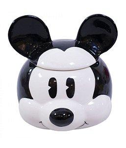 Caneca Porcelana Rosto Mickey Cartoon - Disney
