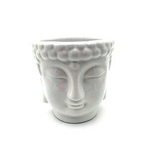 Cachepot de porcelana Buda