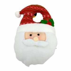 Papai Noel para maçaneta de porta