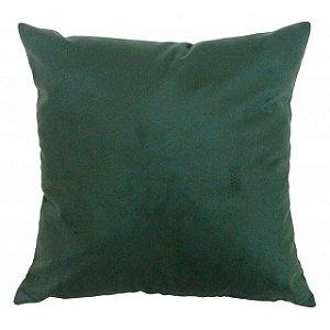 Capa de almofada suede verde