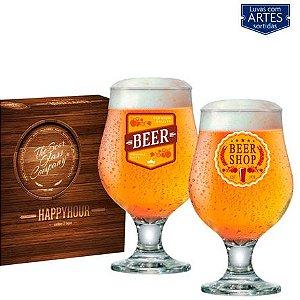 Conjunto de Taças Happy Hour Beer Master 380 ml 02 peças
