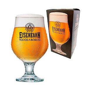 Taça de vidro cerveja Eisenbahn beer 380 ml