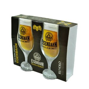 Jogo de Taça de vidro Eisenbahn Royal Beer 330 ml 02 peças