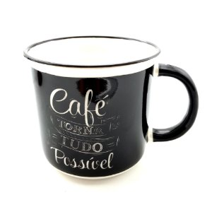 Caneca Café Vintage