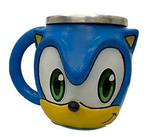 Caneca 3d Sonic - SEGA