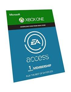 EA Access Xbox One - Assinatura de 1 Mês