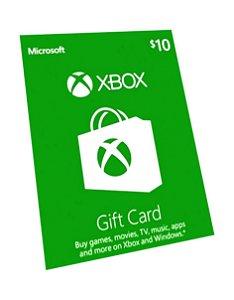 Cartão Presente Pré Pago Xbox Live R$ 29 Reais